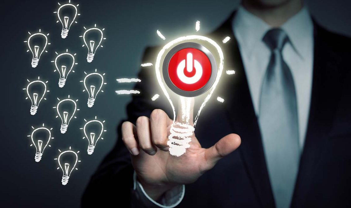 collecting ideas - business solution